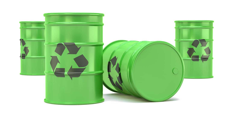 Wir entsorgen die verschmutzten Ölbindemittel für Sie.