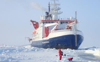"""Das Ölbindemittel Zauberwatte® an Bord des Forschungsschiffs """"Polarstern"""""""